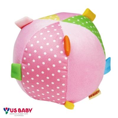 任選-優生布質寶寶學習球(粉)