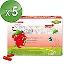 NatureMax家倍健 蔓越莓精粹濃縮膠囊(30粒/盒x5盒)