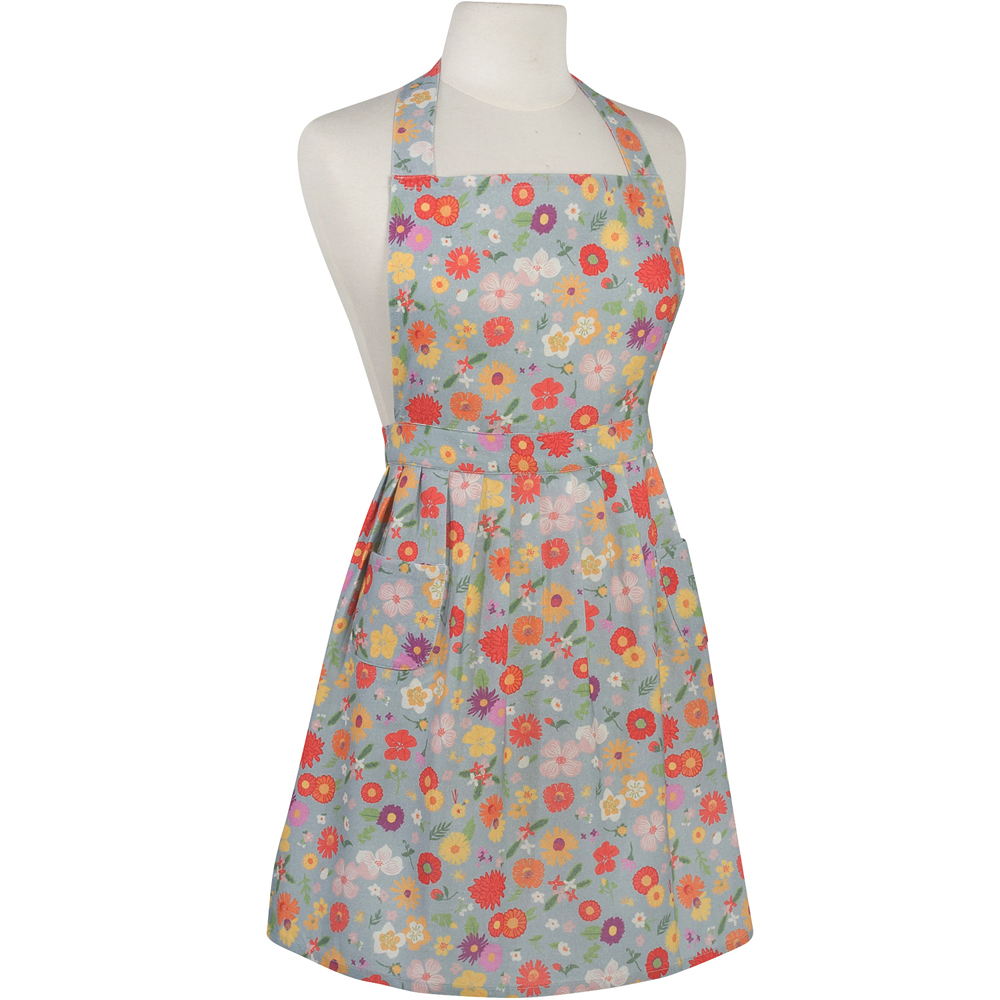 《NOW》經典雙袋圍裙(繽紛花季)