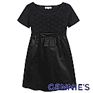 Gennie's奇妮-典雅時尚拼接花朵鏤空針織孕婦上衣(G3Y39)-2色可選
