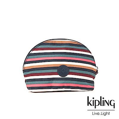 Kipling繽紛仲夏條紋化妝包-ASSEDO
