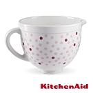 KitchenAid 5Q陶瓷攪拌盆: 粉紅點