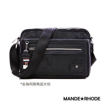 MANDE RHODE-卡莫雷茲x美系潮男風格隨身斜背包-大款