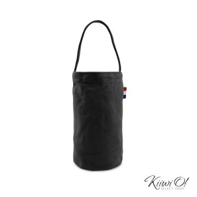 Kiiwi O! 輕便隨行系列帆布飲料袋 JOY 黑