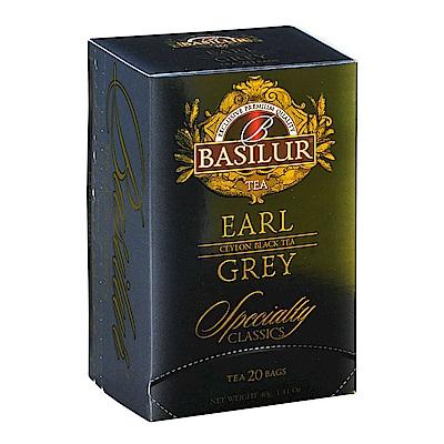 Basilur  經典系列茶包(2gx20入)-伯爵