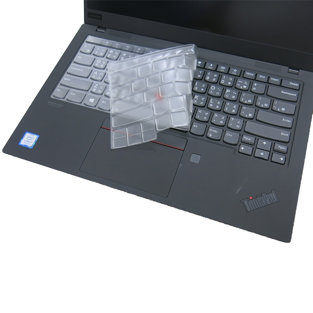 EZstick Lenovo ThinkPad X1C 7TH 奈米銀抗菌 TPU 鍵盤膜
