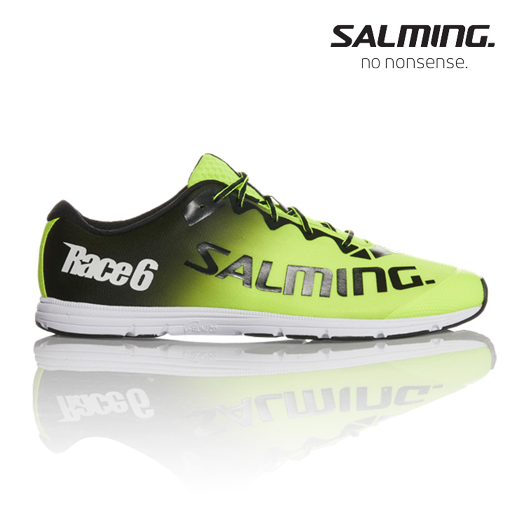 Salming RACE 6 男競速慢跑鞋 黃