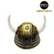 摩達客 萬聖派對佈置 古銅色小牛角帽頭盔 product thumbnail 1