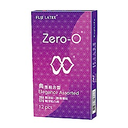 FUJI LATEX ZERO-0 零零系列 典雅綜合裝 衛生套 保險套 12入