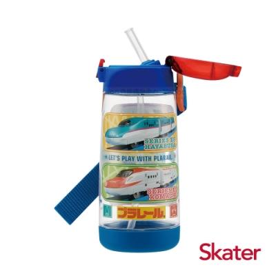 Skater PET吸管水壺(480ml) 新幹線
