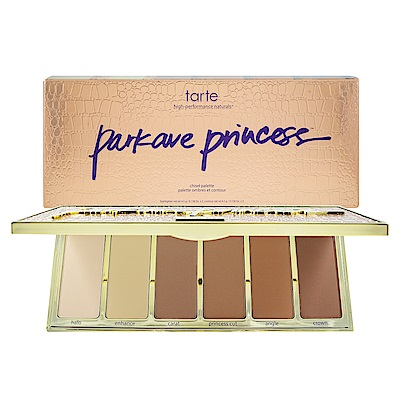 Tarte 6色高光修容打亮盤 Park Ave. Princess