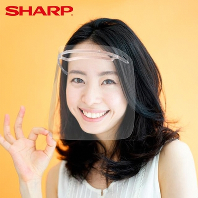 SHARP 夏普 奈米蛾眼科技防護面罩(4入)