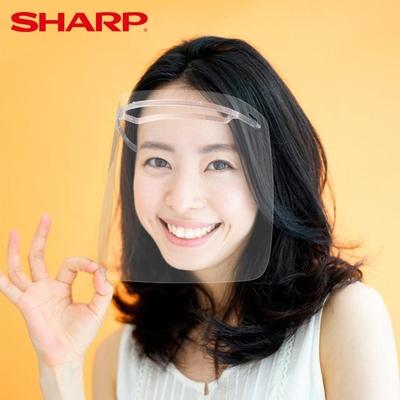 SHARP 夏普 奈米蛾眼科技防護面罩(12入)