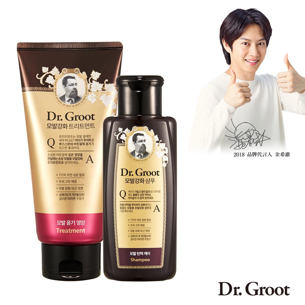 Dr. Groot 養髮祕帖護髮素買大送小-嚴重受損