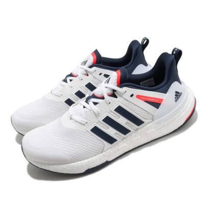 adidas 慢跑鞋 Equipment+ 運動休閒 男鞋 愛迪達 三線 Boost底 緩震 穿搭 白 藍 H02758