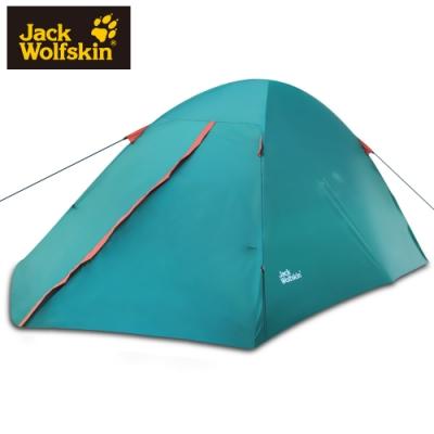 【Jack Wolfskin 飛狼】Alpes 2 登山帳篷 兩人帳『綠』