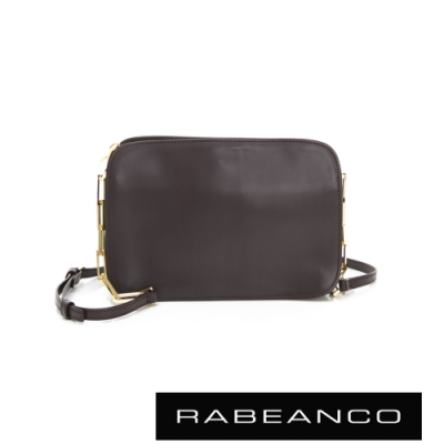 RABEANCO LUXURY極致奢華系列鍊帶包 黑灰