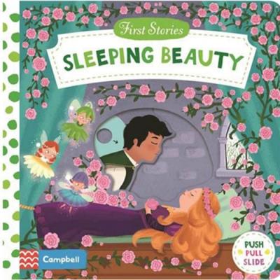 First Stories:Sleeping Beauty 睡美人硬頁拉拉操作書