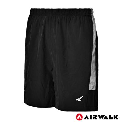 【AIRWALK】男款風衣短褲-黑色
