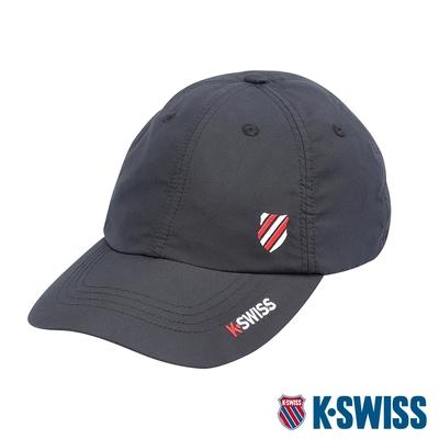 K-SWISS Performance Heritage Cap排汗運動帽-黑