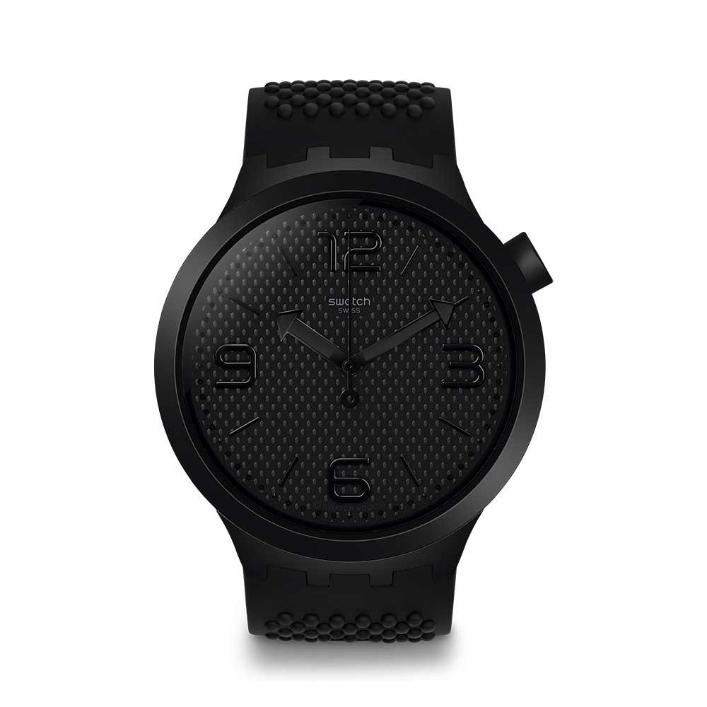 Swatch Big Bold 系列手錶 BBBLACK 黑色 - 47mm