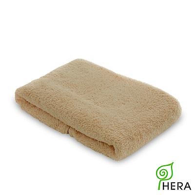 HERA  3 M專利瞬吸快乾抗菌超柔纖小浴巾-暖卡其