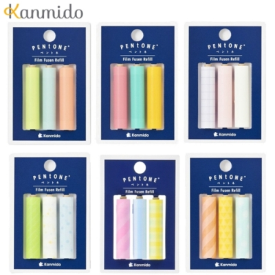 日本Kanmido PENtoNE 筆型便利貼紙補充包 PT-110 系列