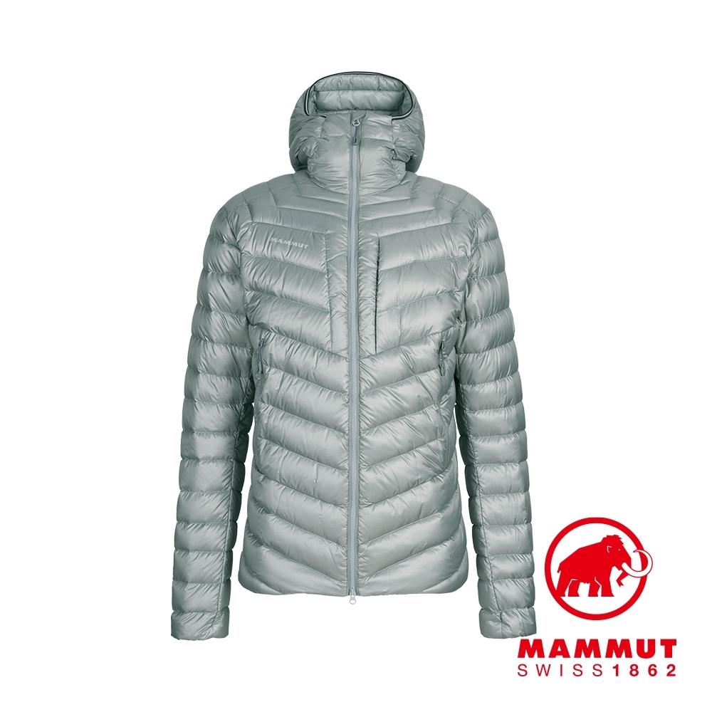 【Mammut 長毛象】Broad Peak IN Hooded Jacket Men 防潑水連帽羽絨外套 花崗岩灰 男款 #1013-00260