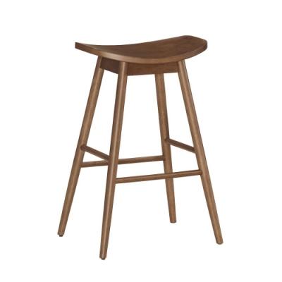 Bernice-格爾實木吧台椅/高腳椅/單椅(高)-47.5x35x76.5cm