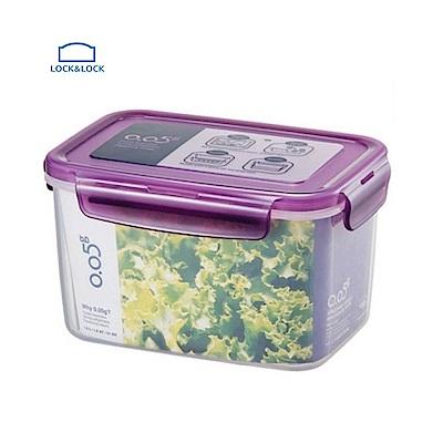 樂扣樂扣O.O5系列保鮮盒/長方形1.5L(魅力紫)(快)