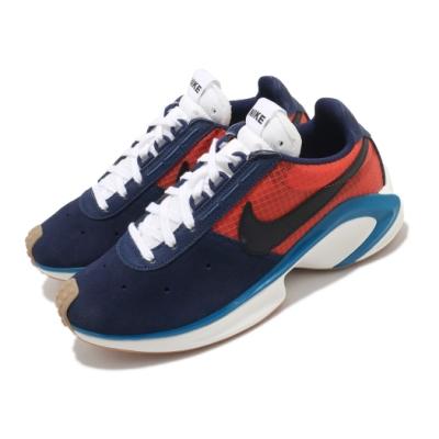 Nike 休閒鞋 D MS X Waffle 運動 男鞋 輕量 舒適 簡約 球鞋 穿搭 麂皮 藍 紅 CQ0205401