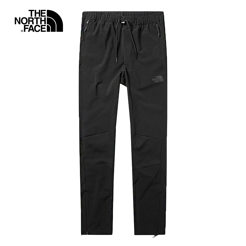 The North Face北面女款黑色防潑水舒適長褲|3VS8JK3