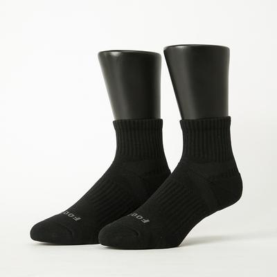 Footer除臭襪-輕壓力單色足弓襪(男襪-T97)