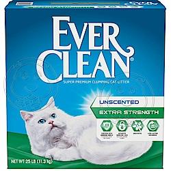 美國EverClean《藍鑽系列》活性碳除臭貓砂(藍標)-25磅