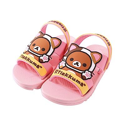 日本拉拉熊兒童涼拖鞋 sk0752 魔法Baby