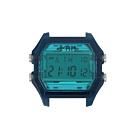 I AM 玩色新革命電子錶-藍錶盤_大(IAM-107)41x44mm
