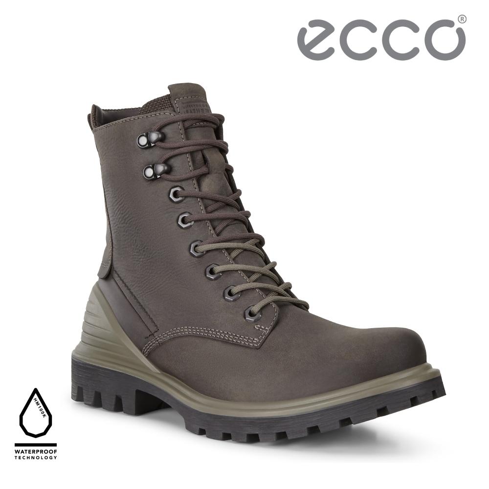 ECCO TREDTRAY M 城市旅行防潑水高筒靴 男鞋 咖啡色