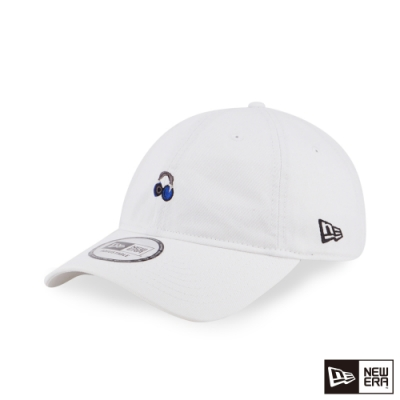 NEW ERA 9THIRTY 930 MINI LOGO 耳機 白 棒球帽