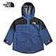 The North Face北面女款藍黑色休閒簡約七分袖衝鋒衣 49CVN8E product thumbnail 1