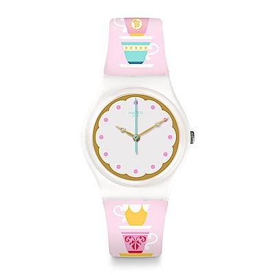 Swatch 英倫風情 HIGH TEA 皇家下午茶手錶