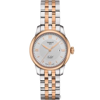 TISSOT Le Locle 力洛克 優雅機械女錶(T0062072203800)