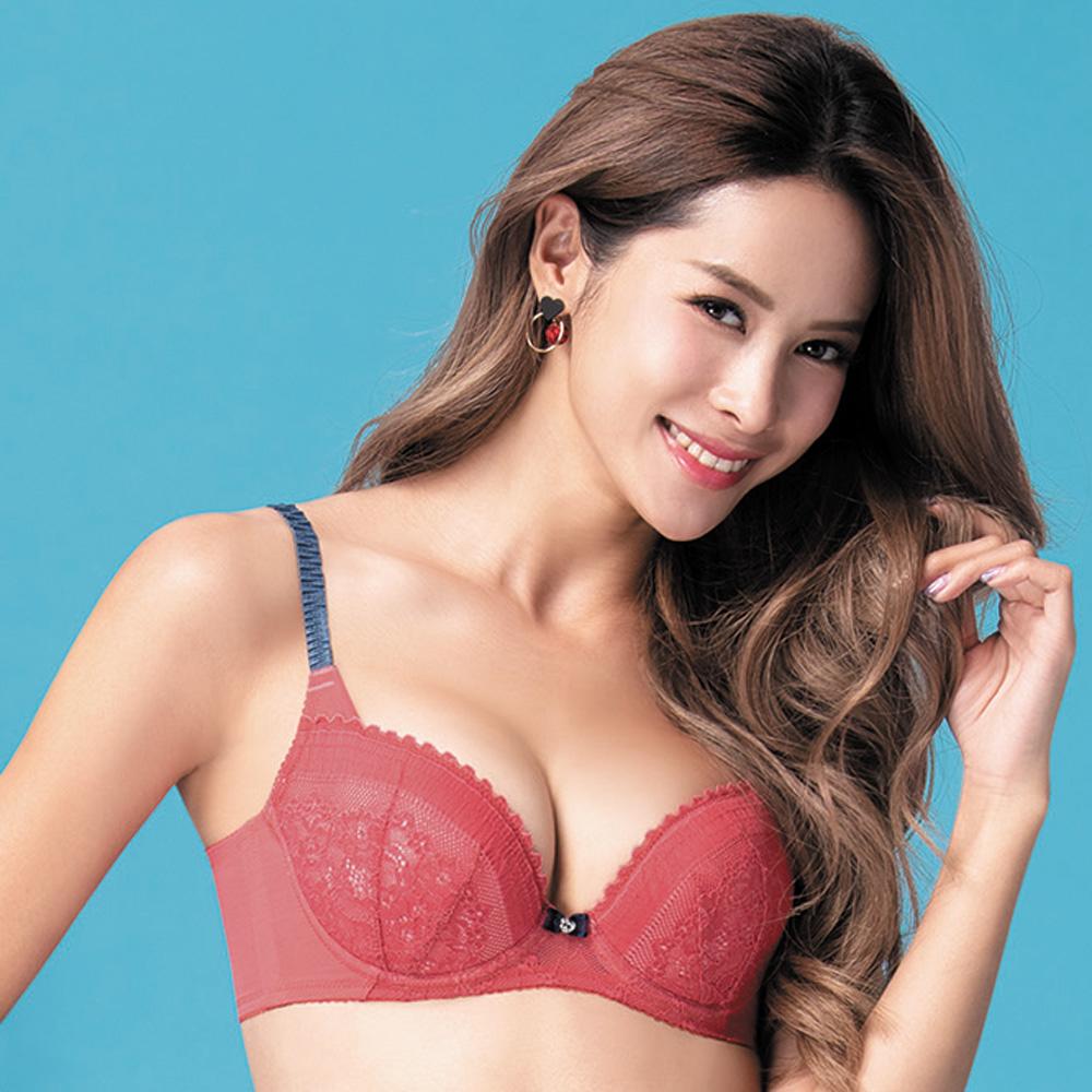 莎薇-O感覺好儷hide  D-F 罩杯內衣(火星紅)舒適柔感塑型