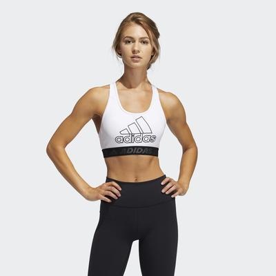 Adidas DON T REST BADGE OF SPORT 女運動內衣-白-GM2834