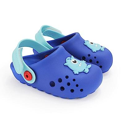 巴西品牌 巴西-幼童 布希鞋 LUNAR 寶藍