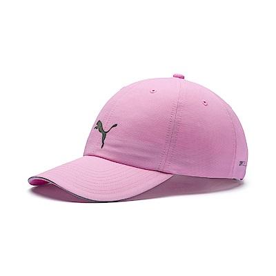 PUMA-男女慢跑系列棒球帽-淡花粉