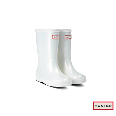 HUNTER - 童鞋 - 小童經典星雲短靴 - 銀