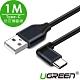 綠聯 電競專用 USB Type-C手機快充傳輸線 1M product thumbnail 1