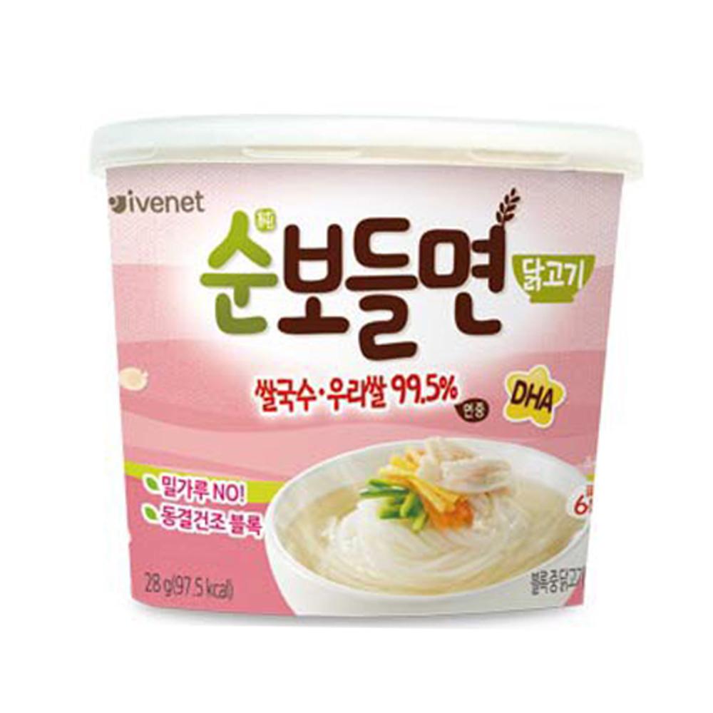 (即期品) 韓國 ivenet 艾唯倪 速食營養米線(雞肉風味)