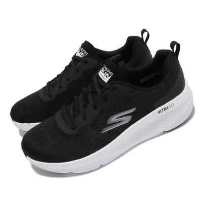 Skechers 慢跑鞋 Go Run Elevate 女鞋 避震 緩衝 回彈 支撐 透氣 黑 白 128319BLK