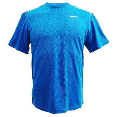 NIKE 短袖上衣  男款 健身 訓練 Dri-FIT 透氣 運動 藍 CJ5815521 AS M NK WILD RUN TCH KNT TOPSS